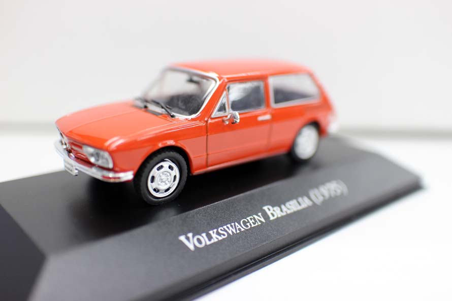 High Simulation BRASILIA 1975 Car Model,1:43 Alloy Car Toys,metal Castings,collection Model,free Shipping