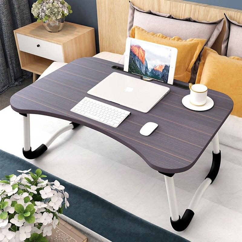 Humor Bett Kleine Tisch Faltbare Laptop Faul Zu Tun Tabelle Student Schlafzimmer Studie Schreibtisch Schlafsaal Artefakt