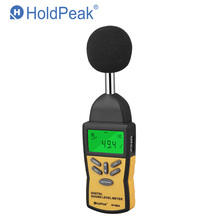 Digital Sound Level Meter HoldPeak HP-882A LCD Noise Measuring Instrument Portable Noise Tester Decibel messiah from scratch