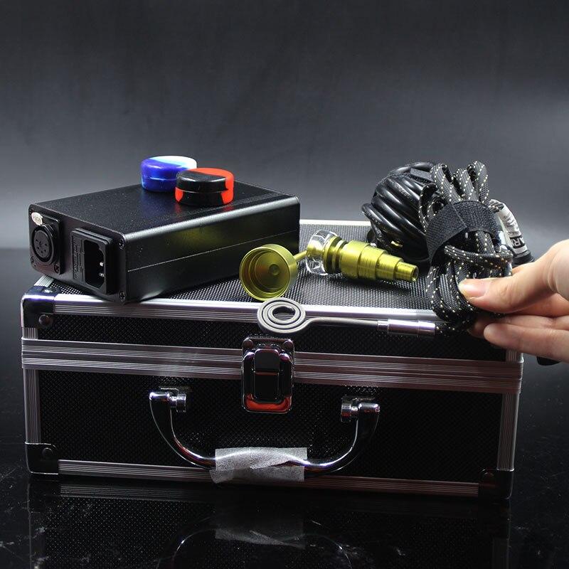 Clou de dab électrique Portable E clou de branger de Quartz cire de titane herbe sèche plate-forme de dab électronique boîte de contrôleur de température fit