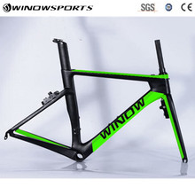 2018 Winow Новый Дизайн дороги углерода велосипеда 700C высокого качества ультра углеродного волокна велосипед рама карбоновая рама Велосипеды гонки, каркас