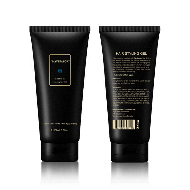 Купить с кэшбэком Strong Hold Gel 100ml Alcohol Free Hair Gel Natural Ingredients Contains Vitamins Super Styling Hold Pleasant Fragrance For Man