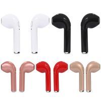 HBQ I7 Twins Mini Wireless Bluetooth Earphones 4.2 Stereo Headset Sports Headphone for iPhone 7 plus 7 6s 6 plus Samsung