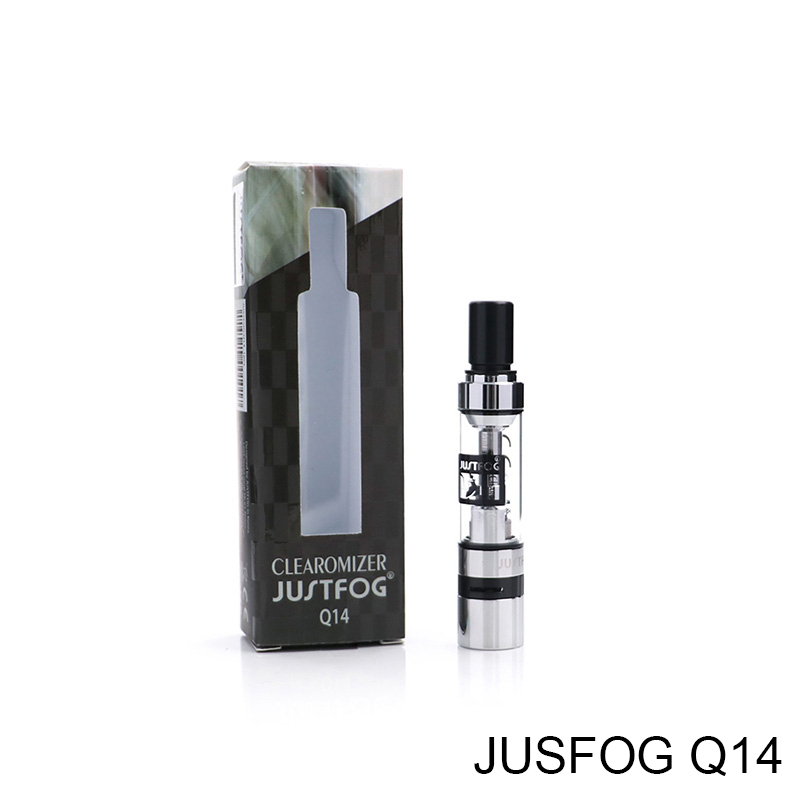 Original Justfog Q14/Q16 Clearomizer Fit Justfog Compact 14 Kit Tank Atomizer Compatible With JUSTFOG Q16 Kit/J-Easy 9 Battery