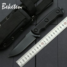 BEKETEN ZT outdoor Fixed knife 9Cr13Mov blade G10 camping tools hunting wilderness survival tactics portable Collection knives