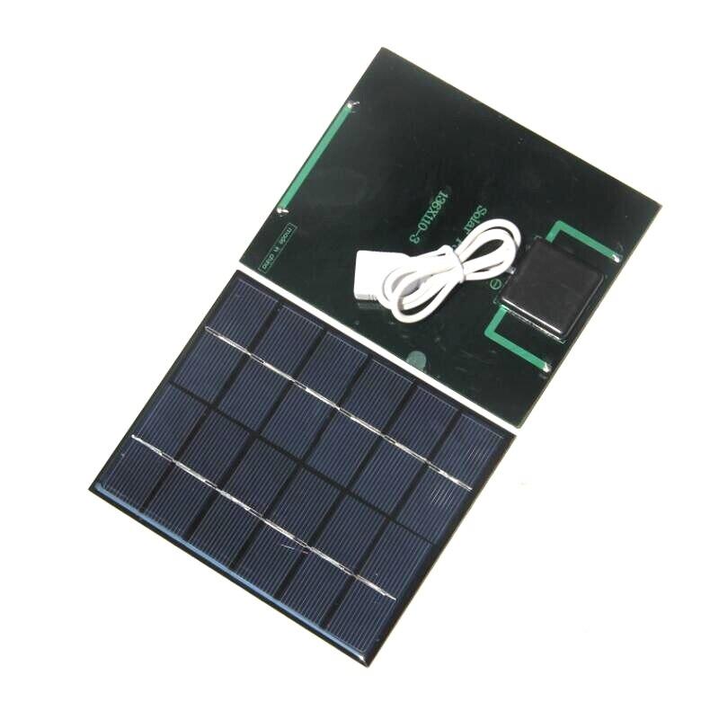୧ʕ ʔ୨Buheshui 2 W 6 V DIY panel solar para Baterías portátiles LED ...