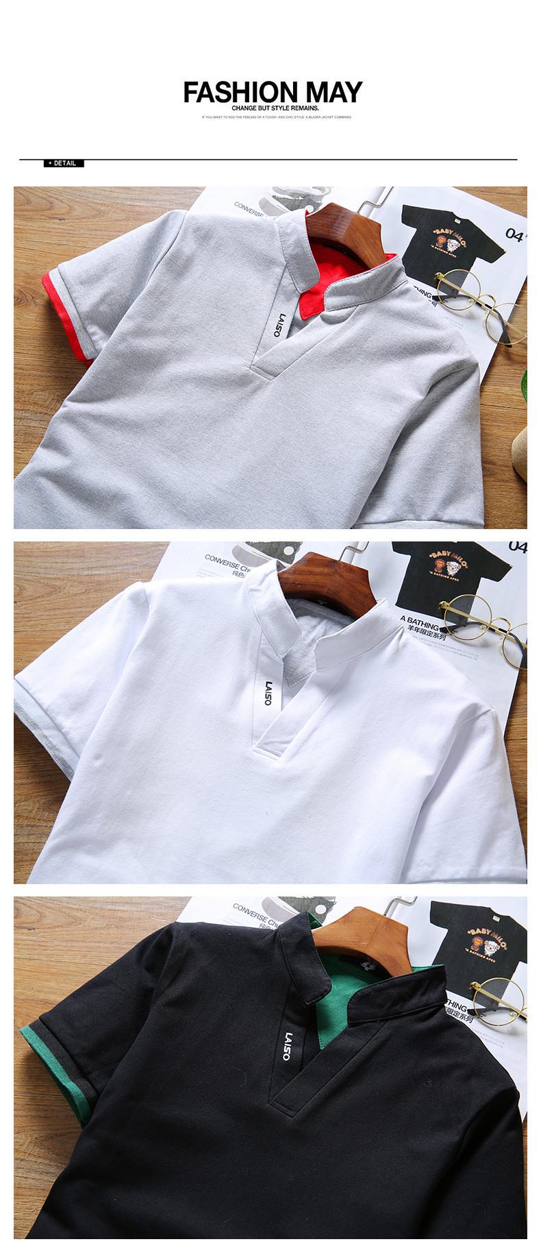 2019 New Arrival Cotton Men Polo Shirt Tops Fashion Brand Plus Size Short Sleeve Black White Polo Shirt Homme Camisa 5XL 20