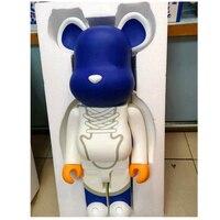 1000% 70 см Мода Bearbrick быть @ rbrick поделки строительные блоки игрушка DIY граффити фигурку Мрачные медведь Коллекционная модель игрушки H96