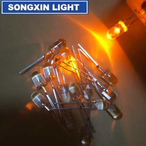 Image 5 - 1000 قطعة 5 مللي متر LED وميض الثنائيات وامض الأصفر وامض شمعة صمام ثنائي باعث للضوء الخفقان وميض ديودو دانشان Y
