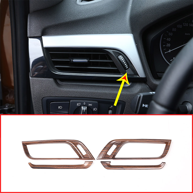 Pine Wood Grain Colour For BMW X1 F48 2016 2019 For BMW X2