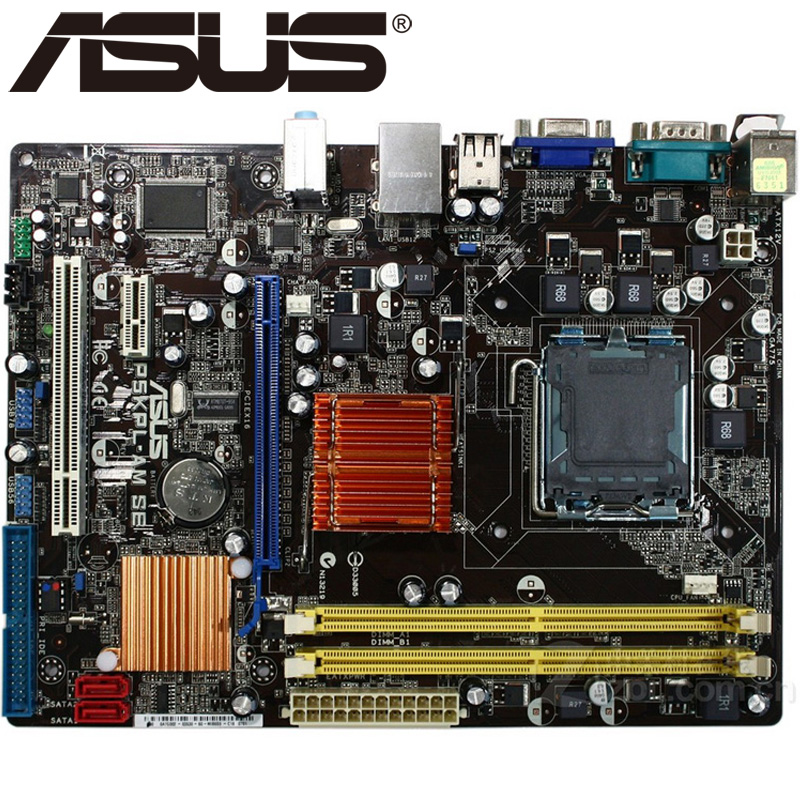 Asus P5KPL-AM SE Desktop Motherboard G31 Socket LGA For 775 Core Pentium Celeron DDR2 4G u ATX BIOS Original Used Mainboard(China)