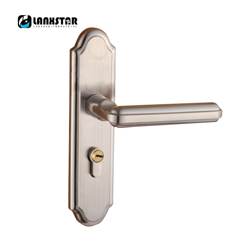 Luxury Silent Doorlock European Classical Style Interior Anti-theft Copper Lock-core Cylinder Wood Door Lock circular ring lock without the lock core cylinder lock m1 61 nylon lock