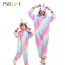 Kigurumi adulte licorne femmes doux confortable ensemble de pyjamas vêtements de nuit vêtements de détente pyjamas unisexe Homewear pour fille/garçons/vêtements de nuit