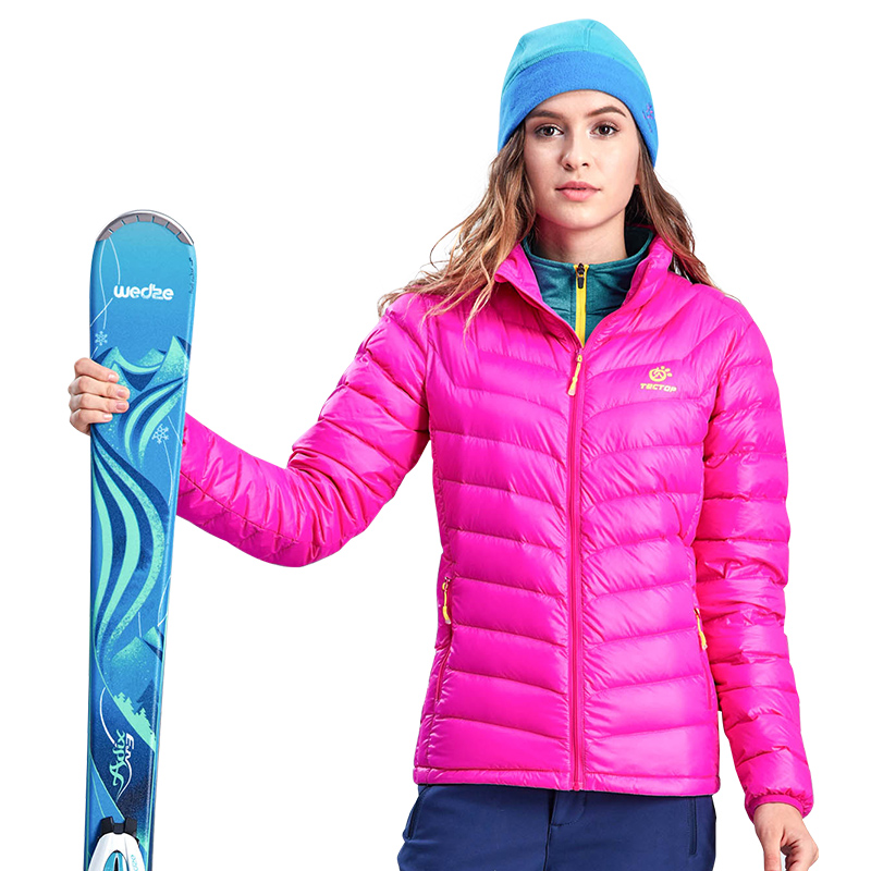 90% Duck Down Sport Winter Women Sports Windproof Ultra-Light Down Coat Ultra Light Hiking Camping Down Jacket For Women clothes saiqi 2017 new winter warm light down women ultra light 80% white duck down jacket short hiking outer coat female jacket 1016