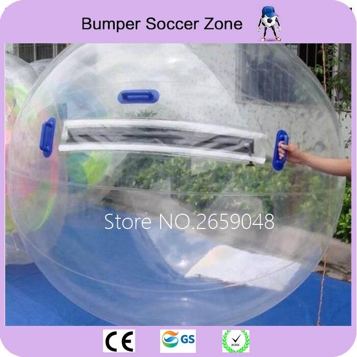 Livraison Gratuite Marche de L'eau Balle Danse Sports De Balle 2 M Dia Gonflable Marche de L'eau Boule De Zorb boule d'eau Aqua Ballon Roulant