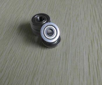 Rendimiento de costo F698ZZ tamaño 8x19x6mm GCr15 material brida rodamiento rígido de bolas