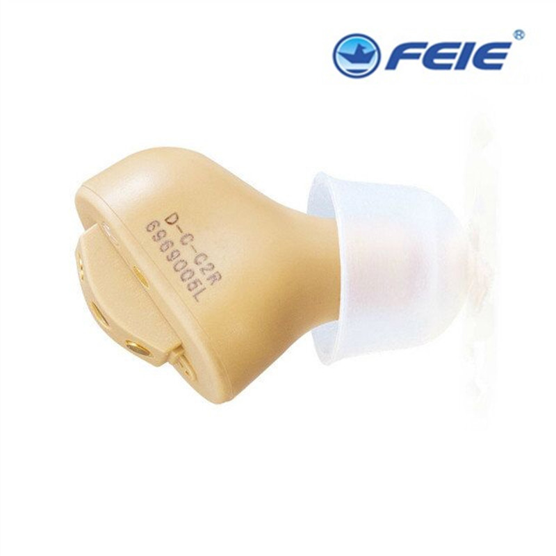 New arrival 2018 Hearing aid mini in-ear rechargeable digital hearing aids amplifier ear tools for the elderly S-51 2pcs rechargeable digital hearing aids s 51 mini device ear amplifier invisible the ear deaf aid wholesale price