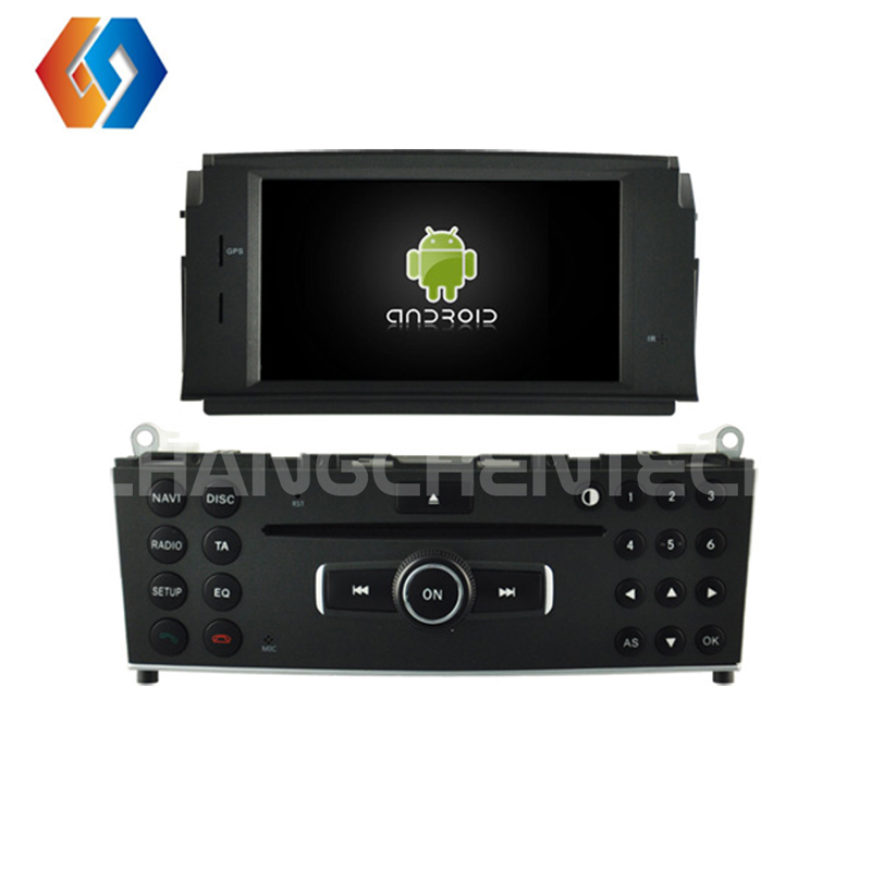 New Android 9.0 In-dash Car <font><b>GPS</b></font> Navigation System for Mercedes-BENZ C CLASS <font><b>W204</b></font> with DVD player Built-in WiFi Bluetooth Cam 10 image
