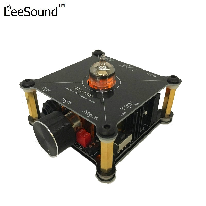 LeeSound TE1 Class A 12AU7 Headphone stereo HiFi tube amplifier Pre Amp devices
