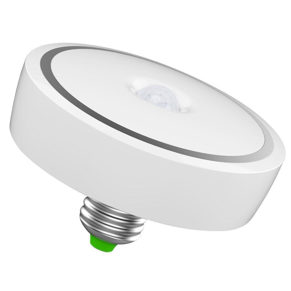 AC85~265V 12W E27 led ceiling lamp/ 24 LED PIR Motion Sensor Light Bulb Auto Switch Motion Detector LED Night Lamp/ Warm White kinfire circular 6w 420lm 6500k 30 x smd 3528 led white light ceiling lamp w driver ac 85 265v
