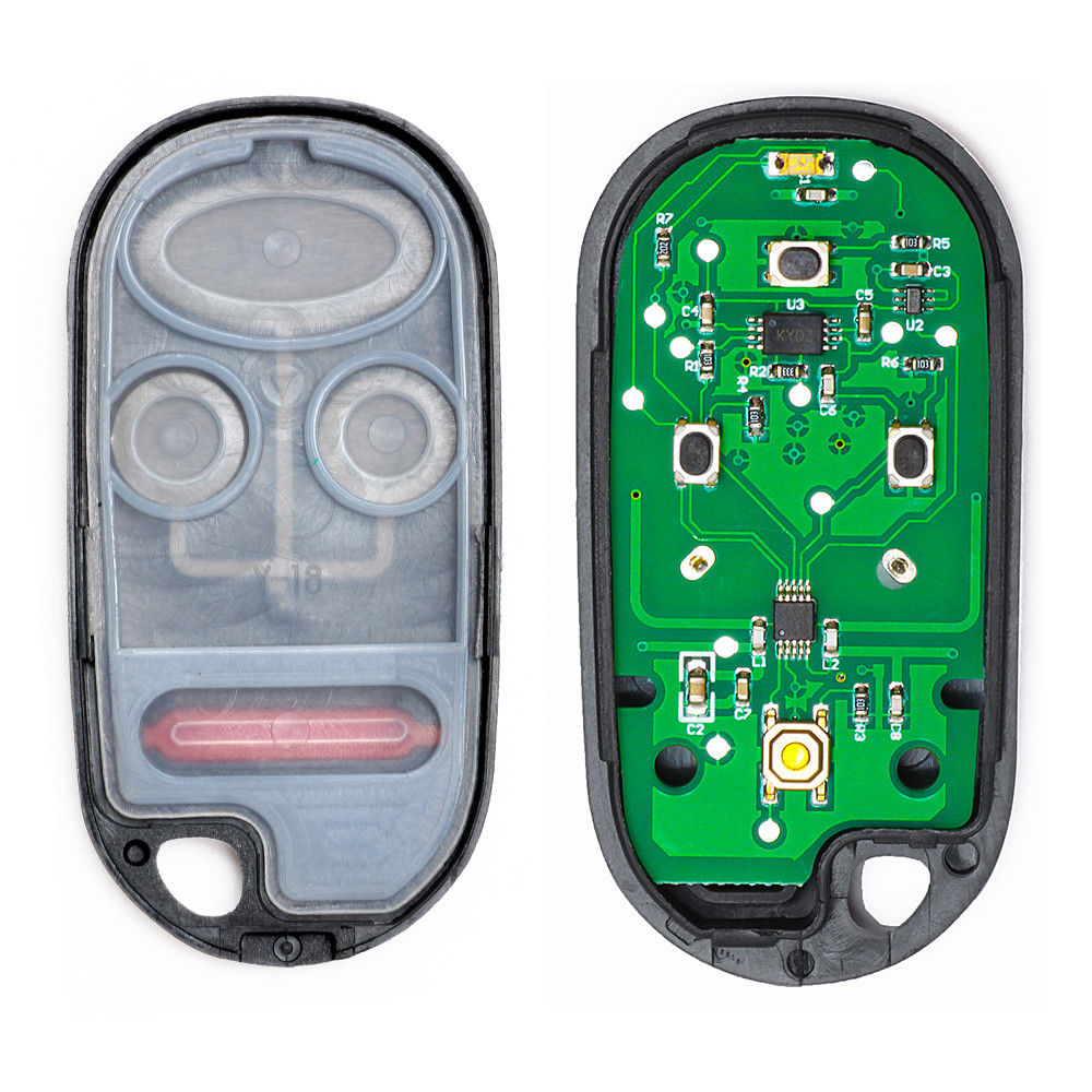 Keyecu НОВЫЙ Автозапуск дистанционного Ключи брелок для Honda Insight 2001-2004 insight 2001-2004 S2000 2000- 2001 FCC: a269zua101