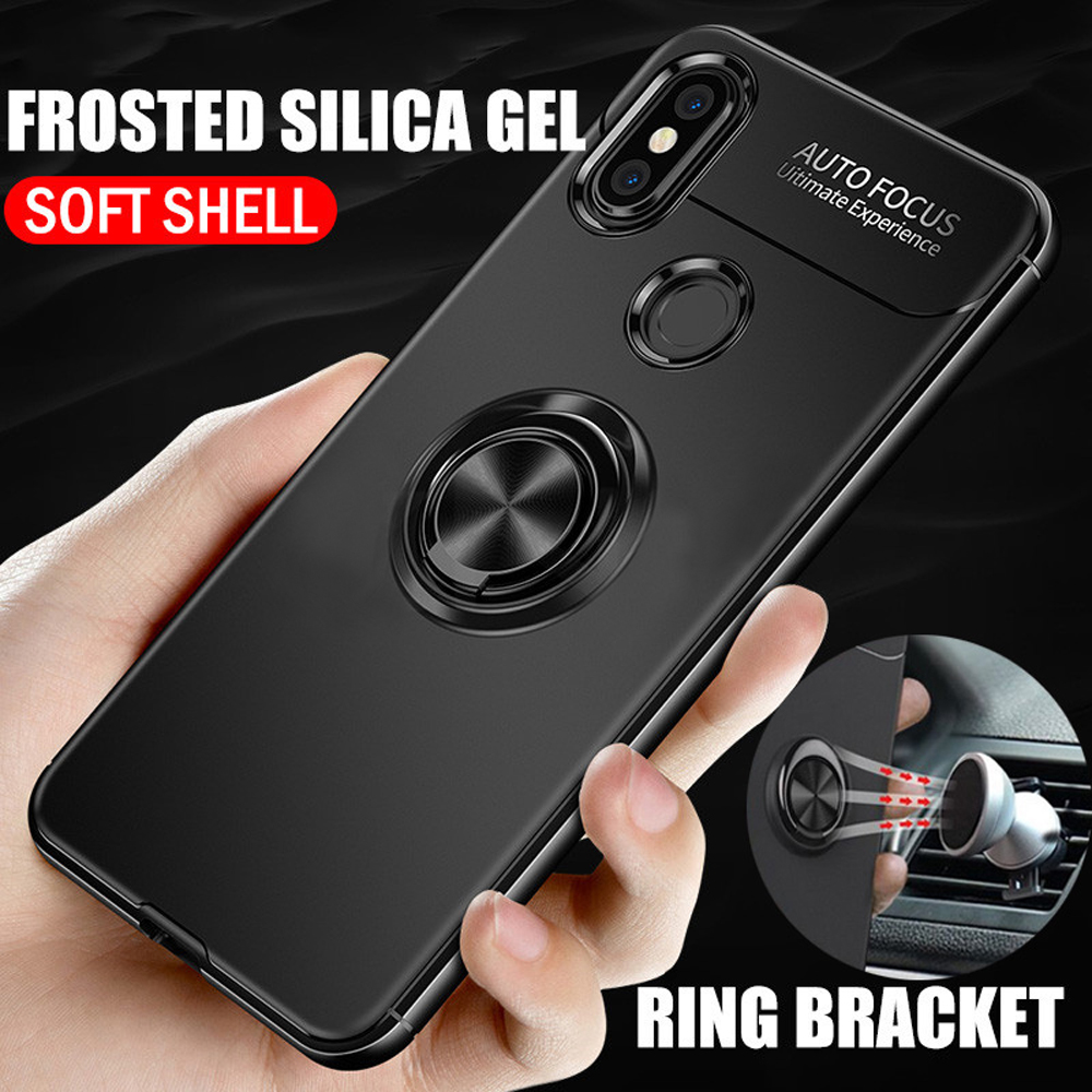 Phone Case For <font><b>Oneplus</b></font> 6T Case Ring Cover For <font><b>Oneplus</b></font> <font><b>6</b></font> Case <font><b>3D</b></font> Coque One Plus <font><b>6</b></font> 6T Case Silicone Luxury Holder Stand Cover image