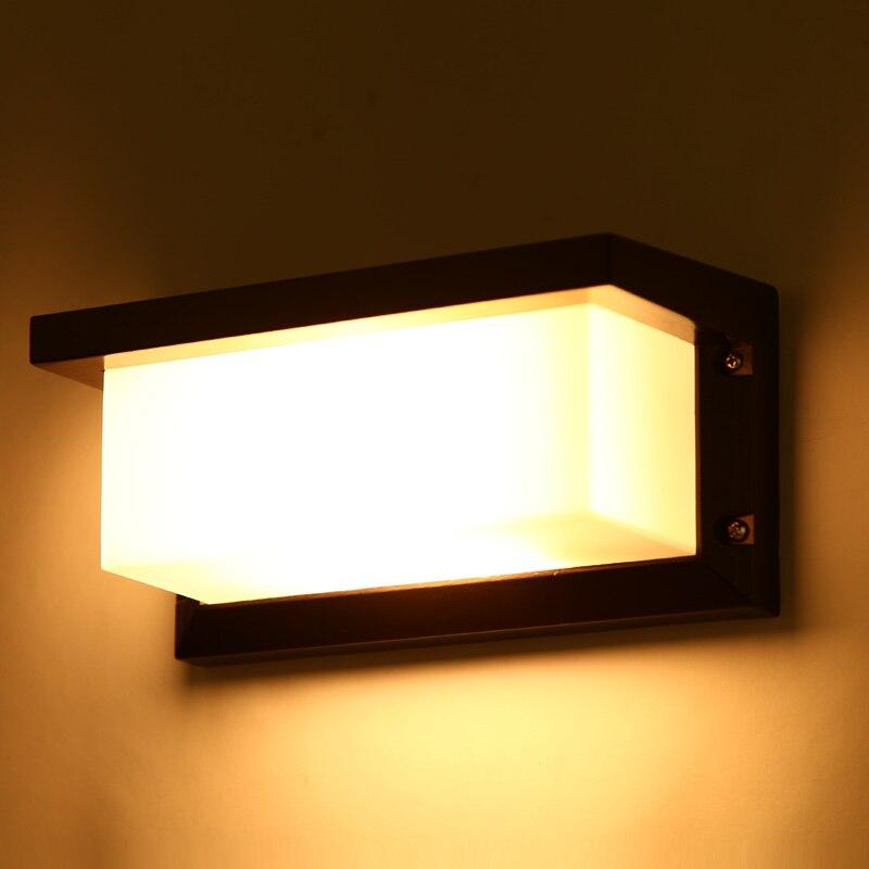 outdoor Porch wall light Waterproof IP54 Modern wall lamp for entry garden decoration sconce lighting fixture 1100