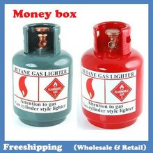 NEW Creative gas cylinder money boxes coin bank 15.5*9.6*9.6cm  free shipping