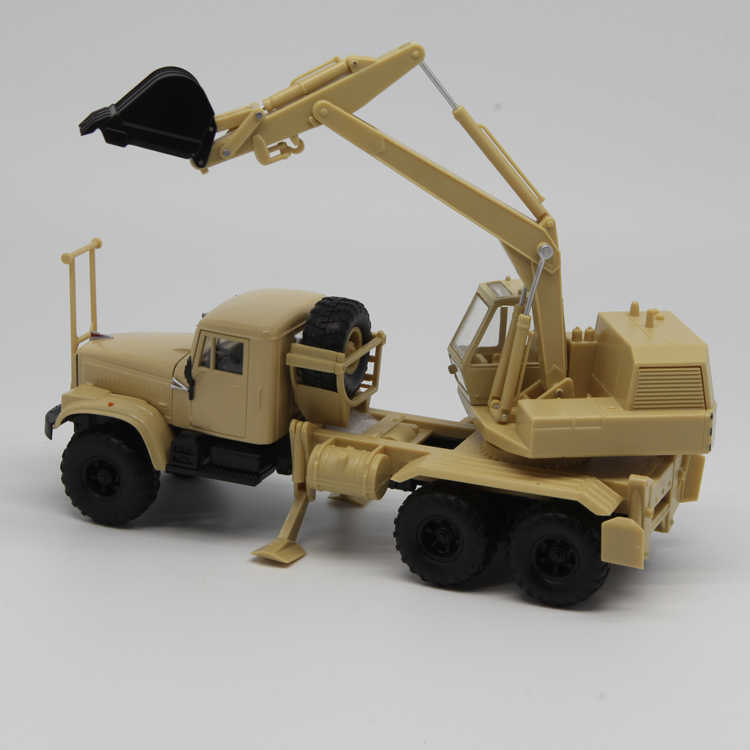 SSM 1:43 KrAZ-2556 AOV-4421 truck boutique alloy car toys for children kids  toys Model gift original box
