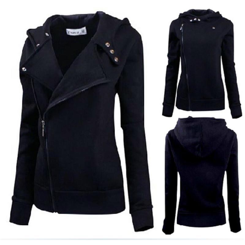 Online Buy Wholesale women zip black slim fit sweater jumper ...