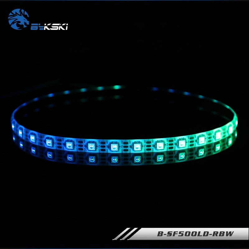 Bykski Aurora LED 5V Strip RBW Light Sticks Full Color Light Sticks Use For Computer Case Sticky Length 100cm