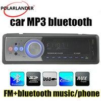 Remote Control In Dash USB SD MMCCardReader FM Receiver 1 DIN Bluetooth MP3 MMC WMA Radio Player Aux Input Car Audio Stereo