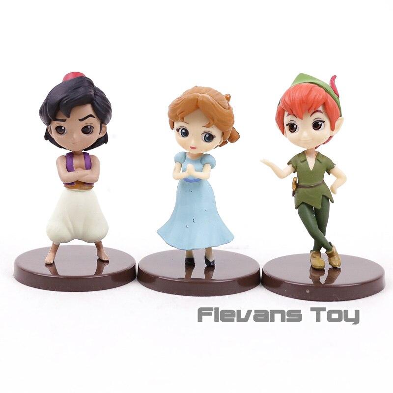 Q Posket Petit Characters Fantastic Time Aladdin Peter Pan