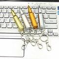 Рекламные подарки творчество flash drive pen driver Пуля 16 ГБ USB flash drive с металлический брелок