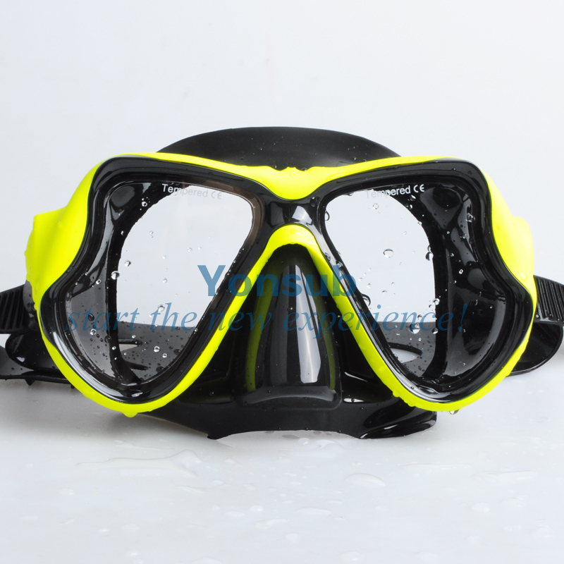 Free Shipping High Quality Diving Snorkels +Diving Mask Diving Sambo Scuba Diving Equipment
