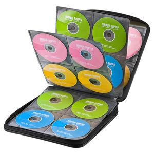 Image 5 - ymjywl CD Case Blu ray Disc Box High quality CD / DVD Storage Package 160 Discs Capacity For Car Travel CD Storage Equipment