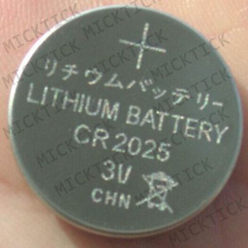 50pcs Lot CR2025 3V Cell Coin Button Battery lithium Li ion ECR2025 DL2025 BR2025 KL2025 L2025 Watches clocks toys free shipping in Button Cell Batteries from Consumer Electronics