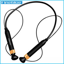 FineBlue FD-600 Bluetooth Headset Wireless Earphone Stereo Anti-lost NFC Sport headphone For iphone xiaomi smart phones