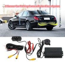 Автомобиль Помощи При Парковке 2 Датчика Парковки Камеры Радар-Детектор Обратный Авто Парктроники Парковочный Сенсор Estacionamento Sensoru
