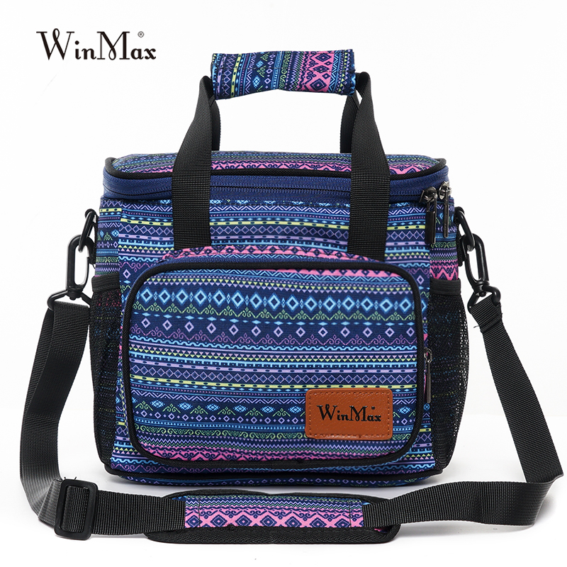9bd244c74 2019 Winmax Fashion Portable Insulated Lunch Bag Thermal Food Picnic Lunch  Cooler Bags Women kids Men