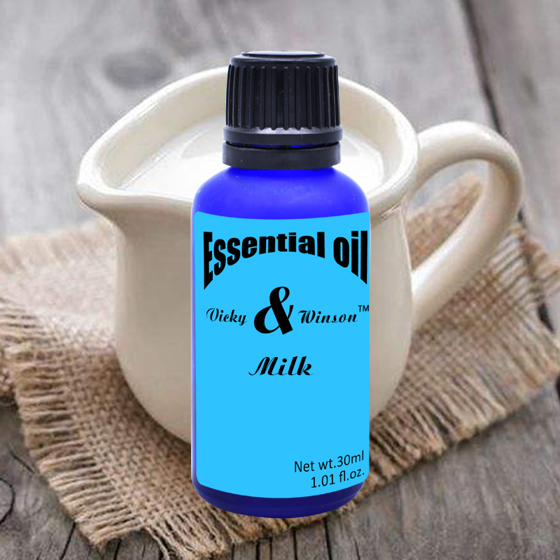 Vicky&Winson Milk Aromatherapy Essential Oils 30ml Humidifier Purifier For Water Soluble Aroma Essential Oil Plant VWXX13
