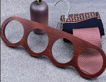 New Wood Garment Racks Wooden Scarves Belt Necktie Accessories Storage Rack Hanger Hook Display