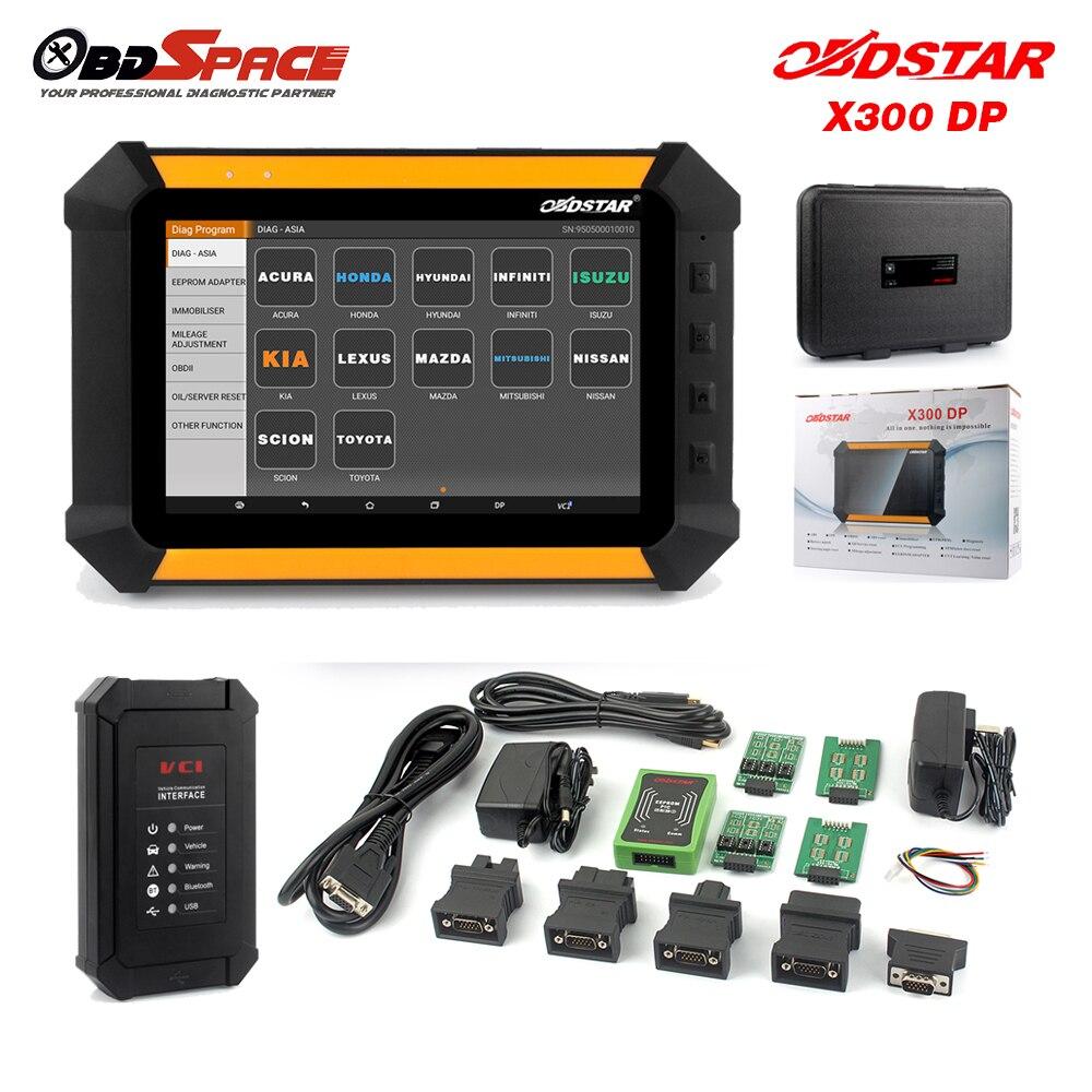 Prix pour Obdstar x300 dp x-300 nouvelle auto programmeur principal + correction d'odomètre outil + EEPROM Adaptateur + Fonction Spéciale EPB ABS de Vitesses CVT boîte