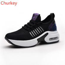 New Women Sports Shoes Fashion Casual Increased Breathable Outdoor