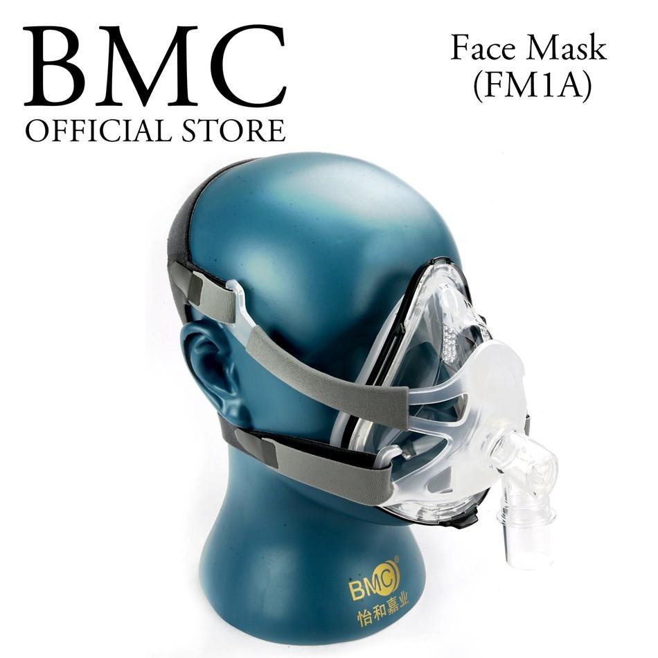 Full Face mask fro CPAP APAP BPAP respirator (2)