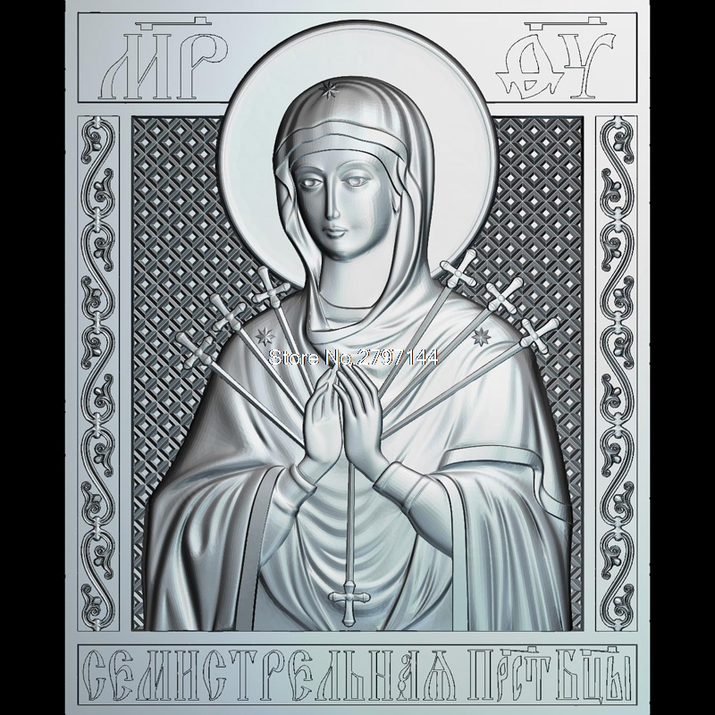 MP_OV 3D model relief figure STL format Religion 3d model relief  for cnc in STL file format venerable nikita stylites pereslavsky 3d model relief figure stl format religion 3d model relief for cnc in stl file format