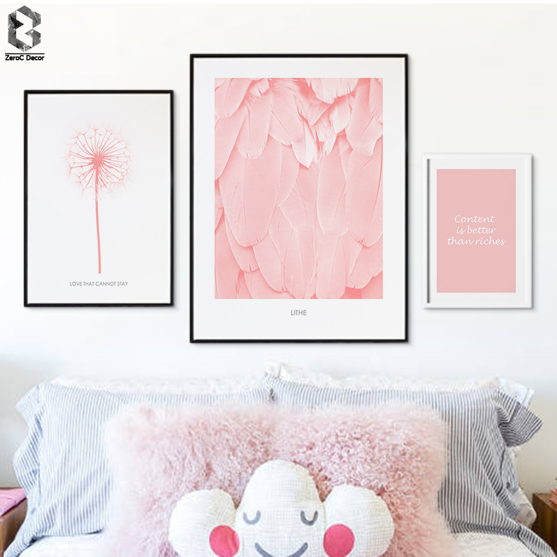 PINK ERUPTION Volcano Smoke Canvas Posters and Prints, Wall art ...