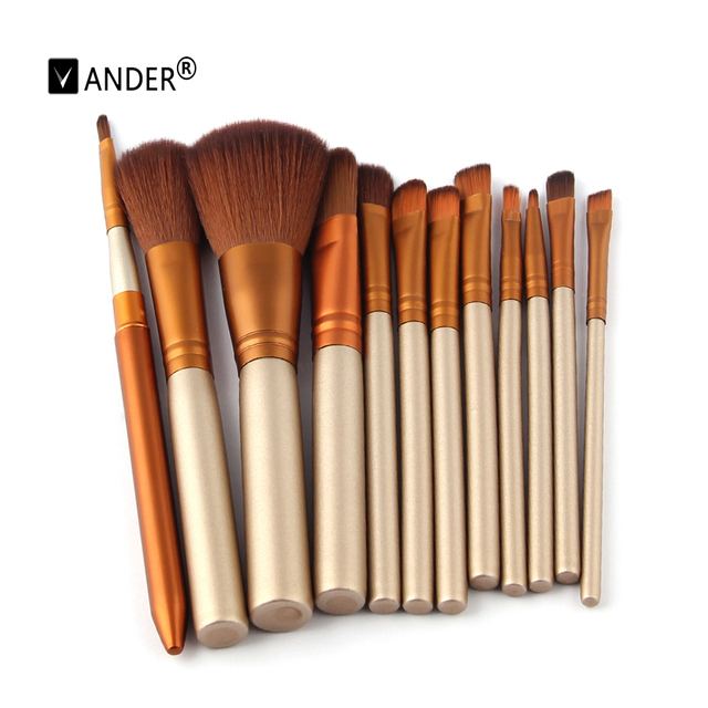12PCS Makeup Brushes Professional Make Up Brush Set