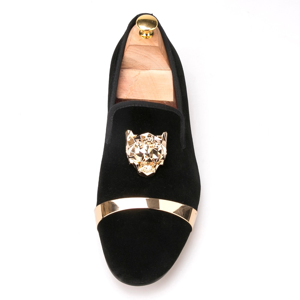 a4550aba4 New fashion men party and wedding handmade loafers men velvet shoes with PP  tiger and gold buckle men dress shoe men's flats - aliexpress.com -  imall.com