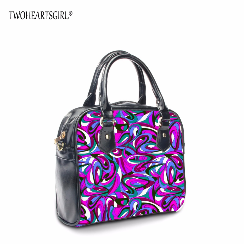 TWOHEARTSGIRL High Quality Designer Fashion Women Tote Handbag Female Tote PU Leather Hand Bag Casual Crossbody Bags with Zipper  aresland women bag female folded geometric plaid bag designer fashion casual tote women handbag shoulder bag quality leather